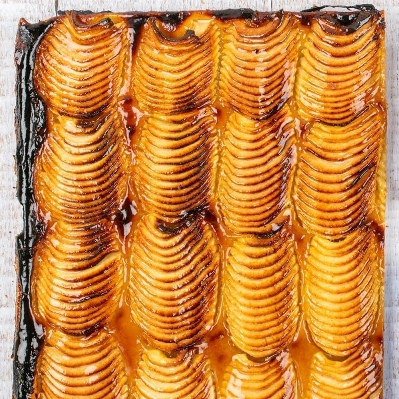 plaque tarte fine pommes