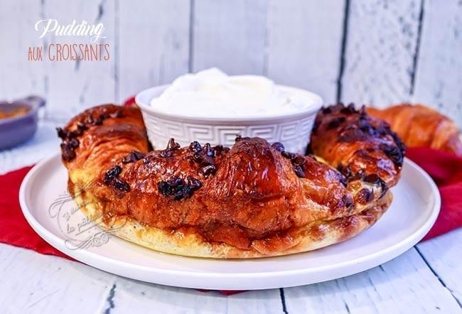 Pudding aux croissants