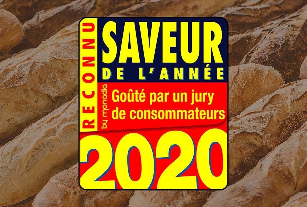 Saveur de l'année 2020