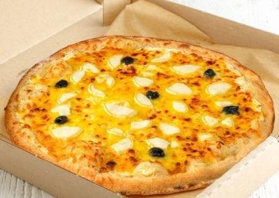 Pizza XXL chèvre-miel