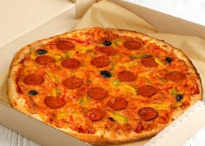 Pizza XXL chorizo