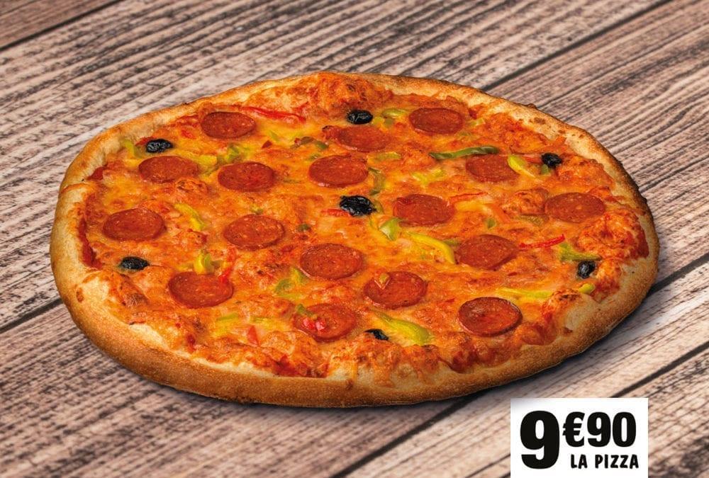 Les pizzas XXL Marie Blachère !