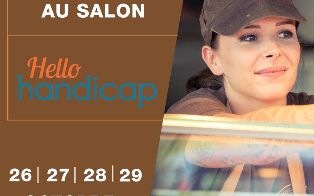 Nous participons au salon Hello Handicap !